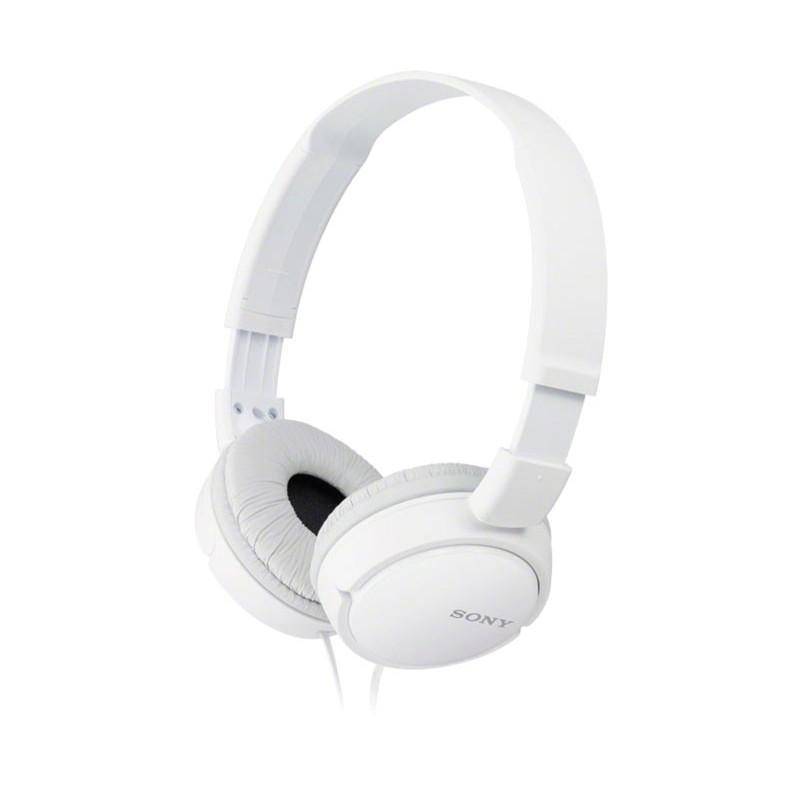 Auriculares de diadema plegables color blanco SONY