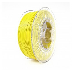 PLA Filamento color amarillo 1.75mm 1kg DEVIL