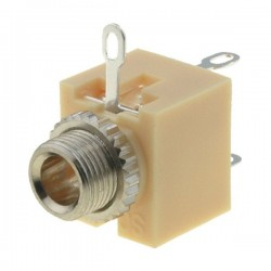CONECTOR HEMBRA JACK 3,5mm MONO CHASIS
