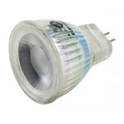 Bombilla LED. MR11. GU4 12 VDC. 3W. CALIDA