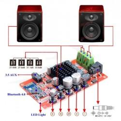 AMPLIFICADOR TDA7492D ESTEREO 50+50W BLUETOOTH 4.0