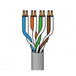 Cable para datos UTP Cat.6 rígido exterior, 100m
