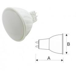 Bombilla LED. MR16. 12 VDC. 5W CALIDA