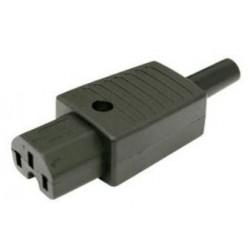 CONECTOR IEC60320 C13 AEREO HEMBRA