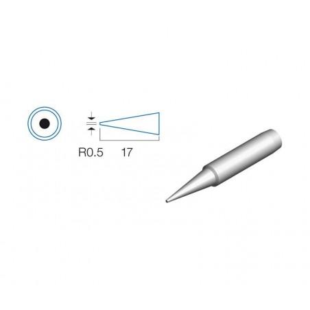 PUNTA SOLDADOR REDONDA 0,5mm