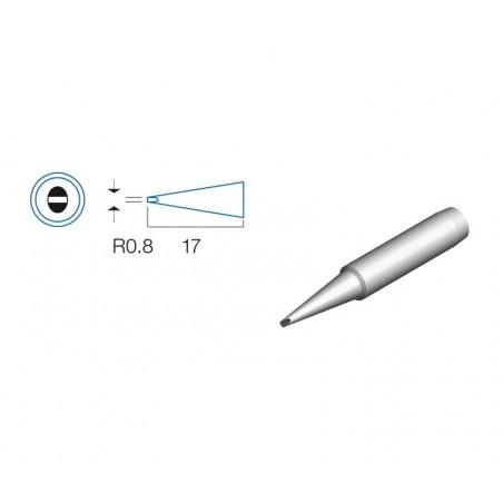 PUNTA SOLDADOR PLANA 0.8mm