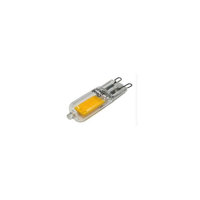 Bombilla LED COB bi-pin G9 2,2W Blanco dia