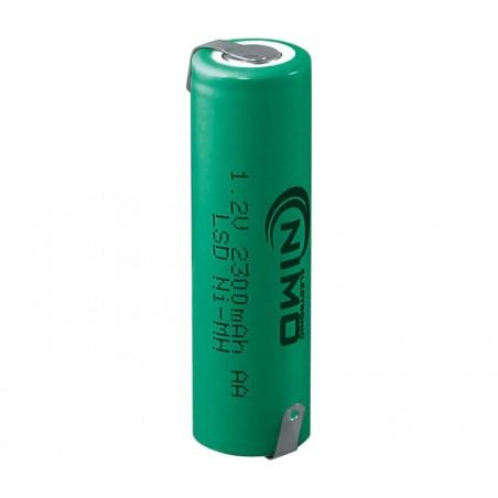 Batería recargable 1,2V 2300mA NI-MH AA
