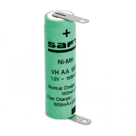 Batería recargable 1,2V 1500mA NI-MH AA