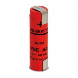 Batería recargable 1,2V 940mA Ni-Cd AA