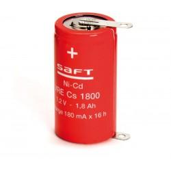 Batería recargable 1,2V 1800mA Ni-Cd