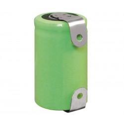 Batería recargable 1,2V 1050mA NI-MH 1/2A, 2/3A