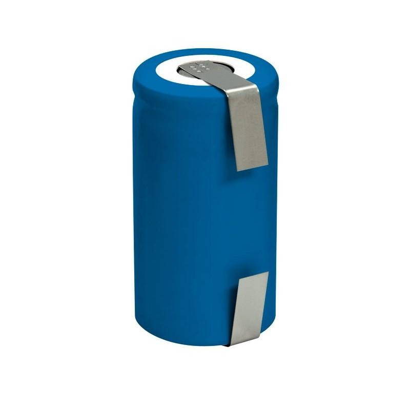 Batería recargable 1,2V 2400mA Ni-Cd