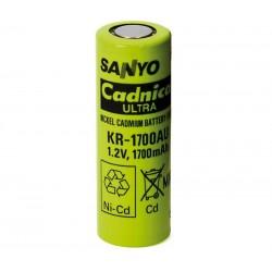 Batería recargable 1,2V 1700mA Ni-Cd KR1700AU