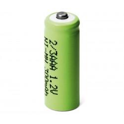 Batería recargable 1,2V 300mA NI-MH 2/3AAA