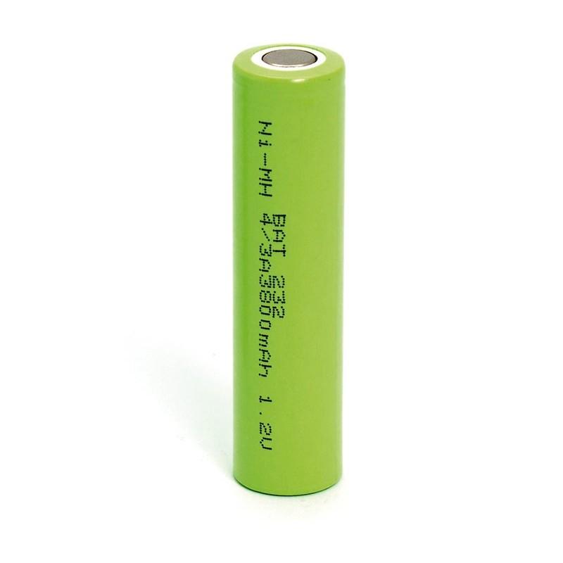 Batería recargable 1,2V 3800mA NI-MH 4/3A, 7/5A