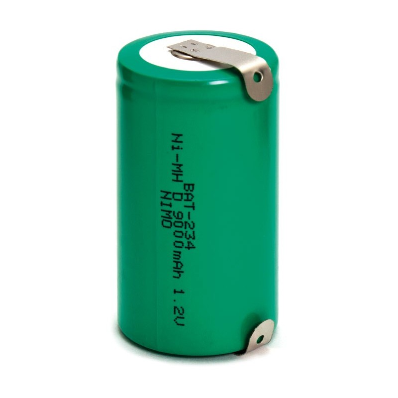Bateria recargable 1,2V 9000mA NI-MH