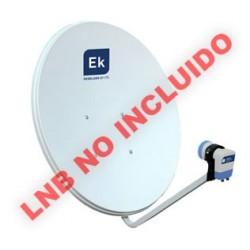 Antena parabólica 60cm tipo offset.