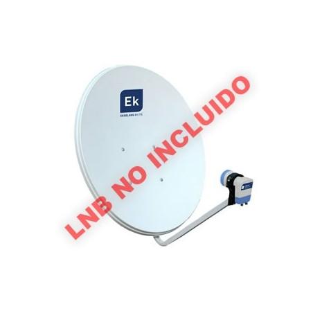 Antena parabólica 80cm tipo offset