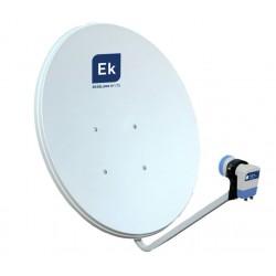 Antena parabólica 80cm + LNB tipo offset