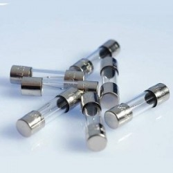 Fusible de cristal 630mA  5 x 20   10 unidades