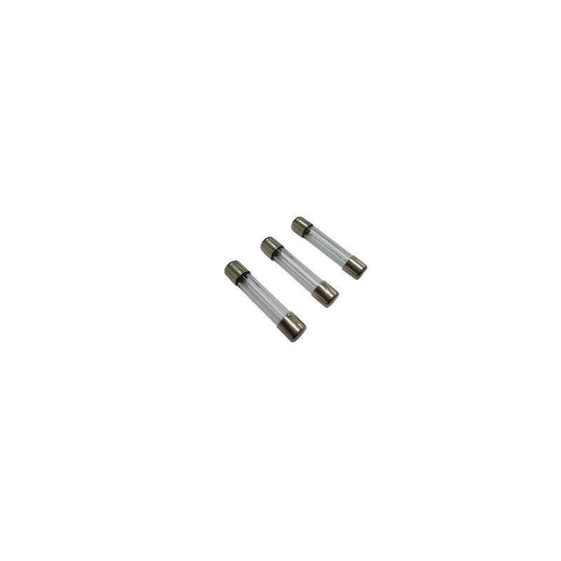 Fusible de cristal 8A  6 x 32   10 unidades