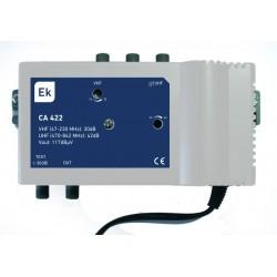 Central amplificadora 40dB 117 dBuV
