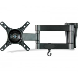 "Soporte para TV de 10"" a 24"" articulado inclinable"