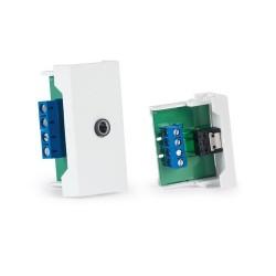 Conector jack 3'5 mm estéreo hembra