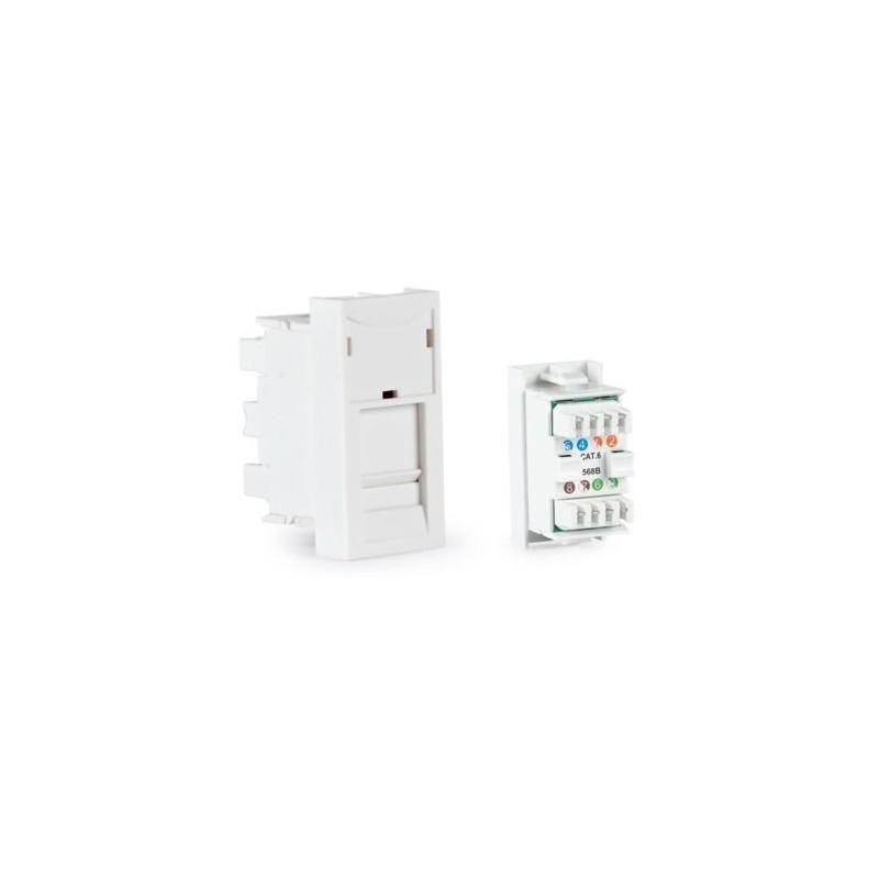 Conector RJ-45 FTP Cat 6 T568B