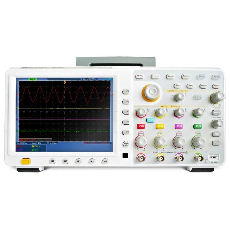 OD-624: Osciloscopio digital con pantalla táctil