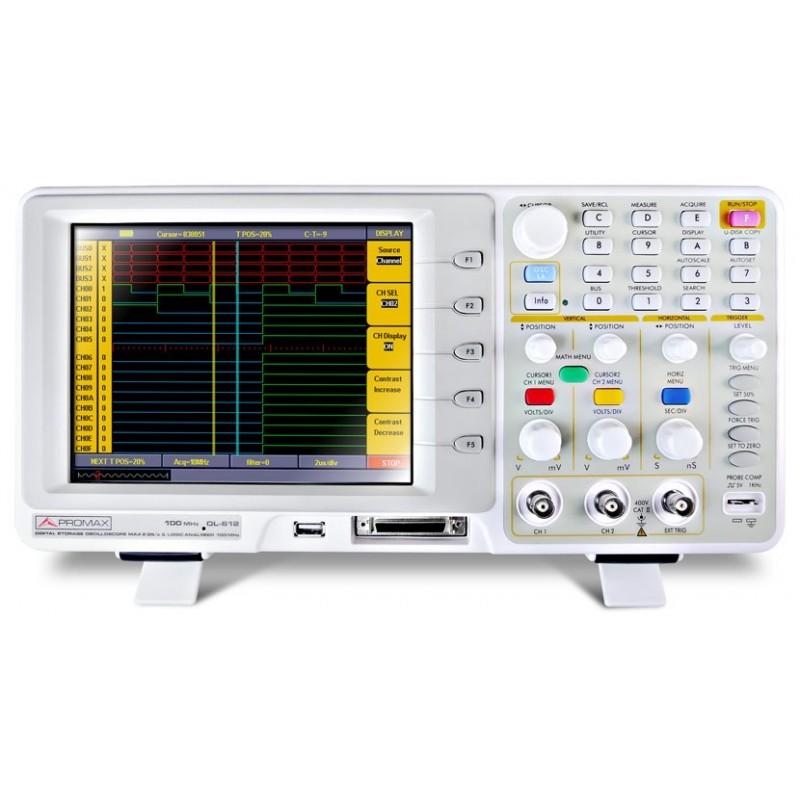 OL-612: Osciloscopio  + Analizador lógico digital