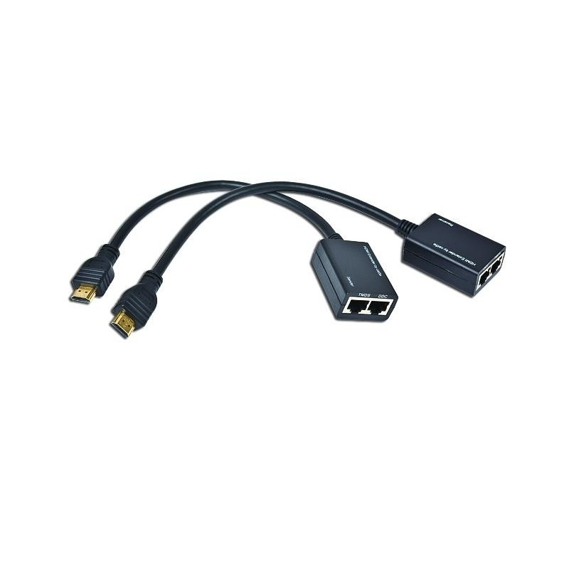 Kit extensor HDMI hasta 30 mts.