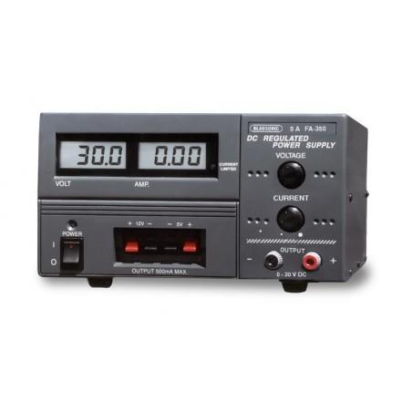 FA-350: Fuente de alimentación triple 30 V, 5 A