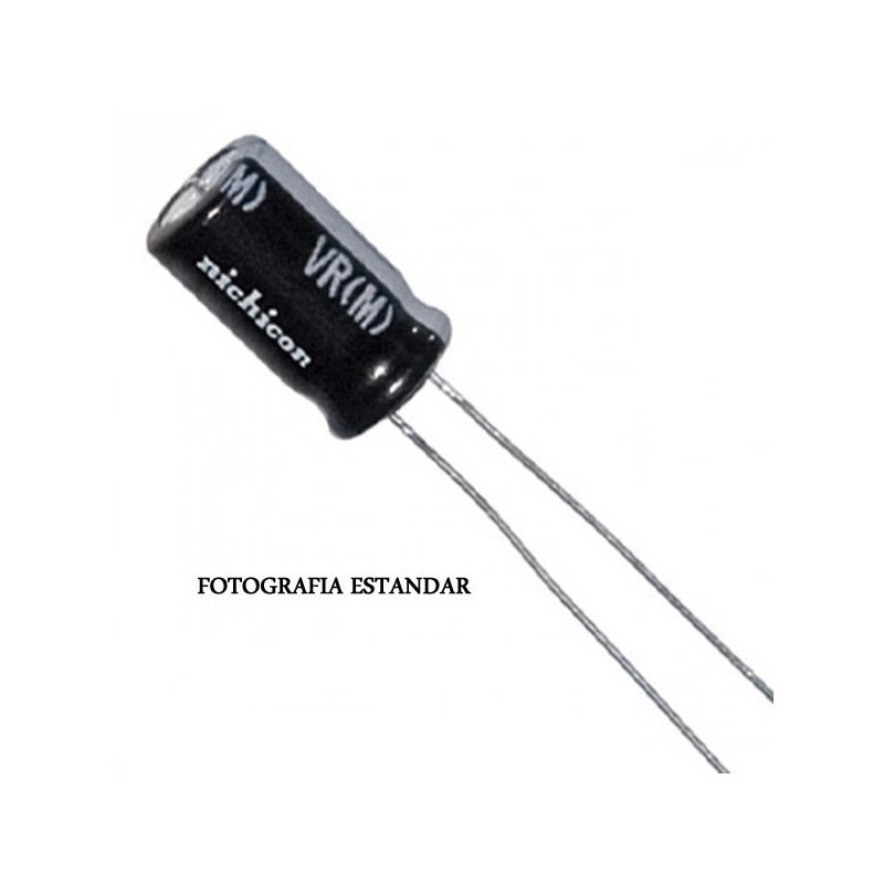 CONDENSADOR ELECTROLITICO 2,2uF/63V 105º
