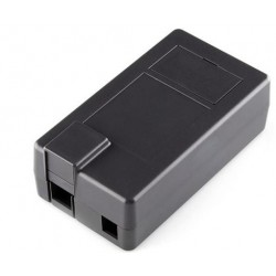 Caja ABS, policarbonato negro, para arduino