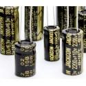 Condensador electrolítico 2200uF/16V 105º