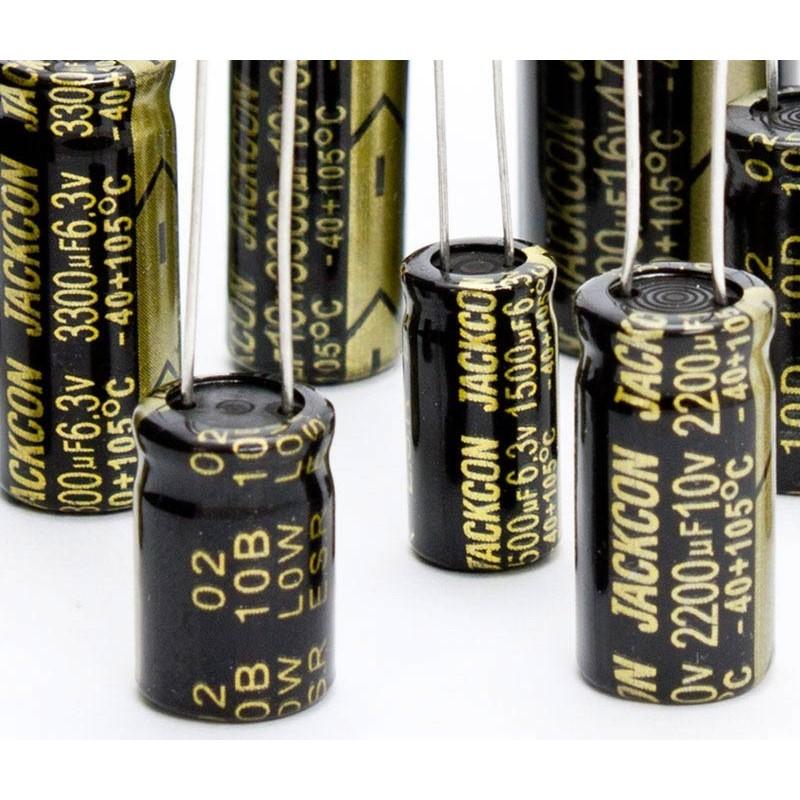 Condensador electrolítico 2200uF/6,3V 105º