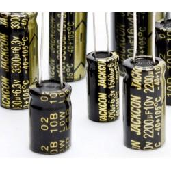 Condensador electrolítico 3300uF/6,3V 105º