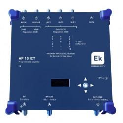 Central programable 10 filtros UHF y SAT