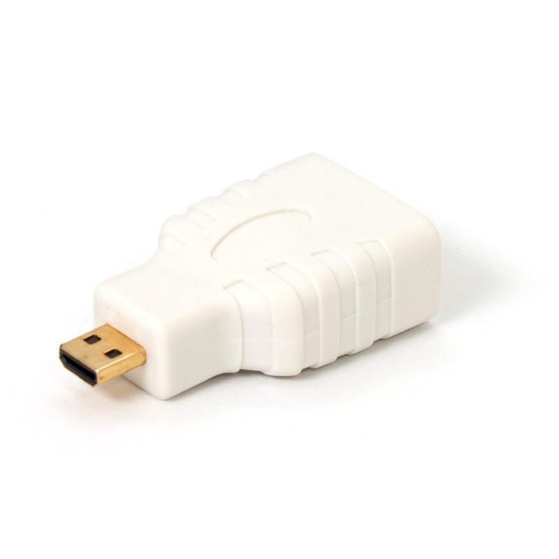 ADAPTADOR HEMBRA HDMI - MACHO MICRO HDMI