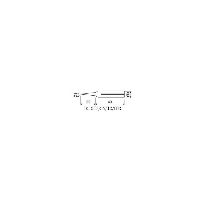 PUNTA LARGA DURACION 1mm