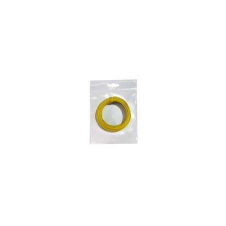 Hilo conex. 0,28 amarillo 10 mts