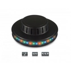 Mini disco efecto LED con 48 LED ultraluminosos