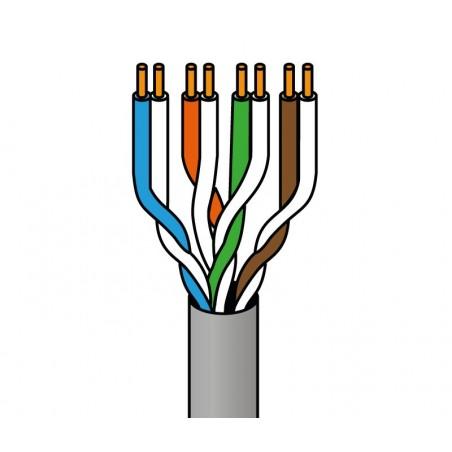 Cable RJ45 Cat.6 UTP rígido AWG23 305 Metros