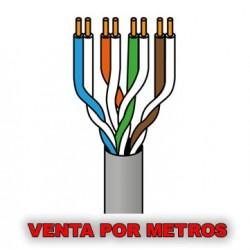 Cable RJ45 Cat.6 UTP rígido AWG23 1 Metro