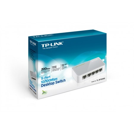 TLSF1005D SWITCH MINI 5P 10/100