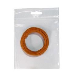 Hilo conex. 0,28 naranja 10 mts flexible