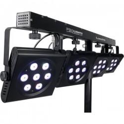 LUMI4TRI es un set de cambiacolor LED portatil Plu
