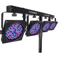 LUMI4RGB es un set cambia color LED portatil